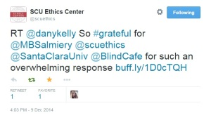 SCU ethics testimonial