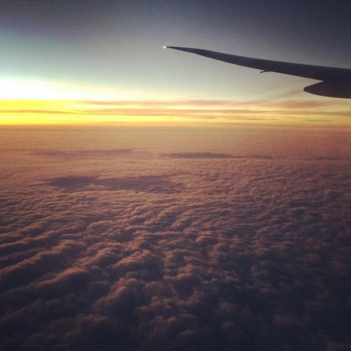Blissfull Bali flight