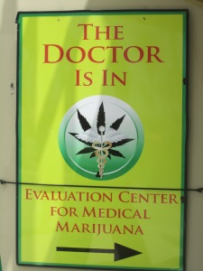Medical Marijuana is legal in California, and is popular in Venice beach.