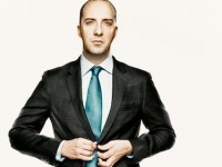 Tony Hale -promoting Veep (I loved him in Arrested Development)